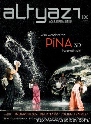 Wim Wenders'ten Pina 3D Hareketin Şiiri