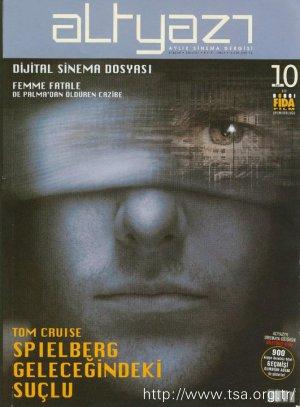 Tom Cruise Spielberg Geleceğindeki Suçlu