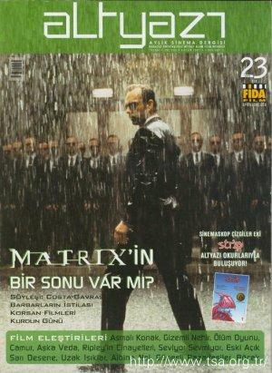 Matrix'in Bir Sonu Var mı?