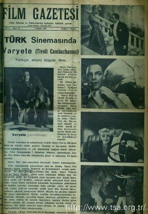 Türk Sinemasında: Varyete