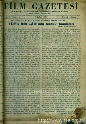 Türk İnkılabında Terakki Hamleleri