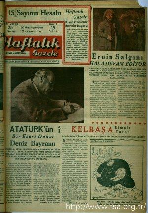 Atatürk'ün Bir Eseri Daha Deniz Bayramı