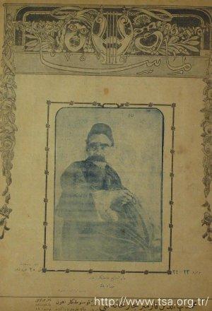 Darülbedayi Sanatkarlarından Behzad Bey (Görsel)