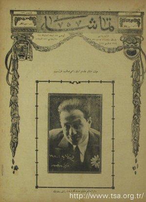 Darülbedayi-i Osmânî Sanatkarlarından A. Galib Bey (Görsel)